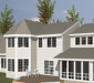 Shingle Style - Rear - CAD1