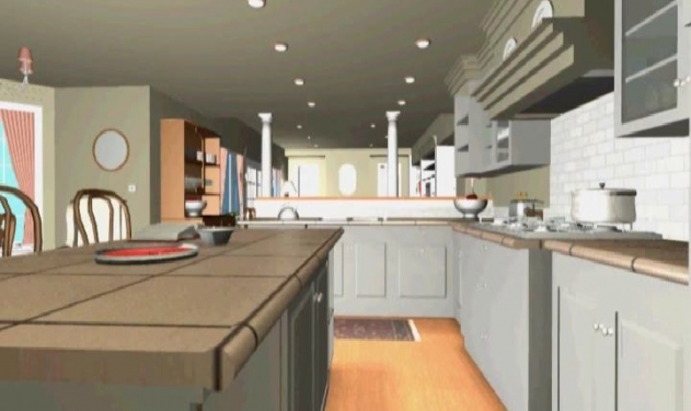 Shingle Style - Kitchen - CAD